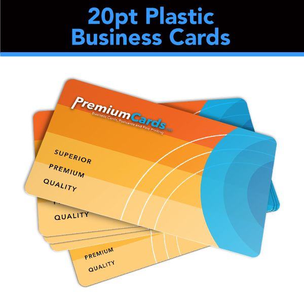 137 best premium business cards images on pinterest premium 20pt plastic business cards 35x2 white colourmoves