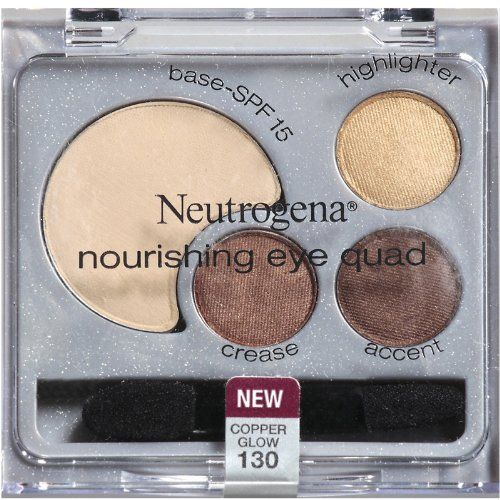 Neutrogena Nourishing Eye Quad, Copper Glow / Neutrals 1 set 130