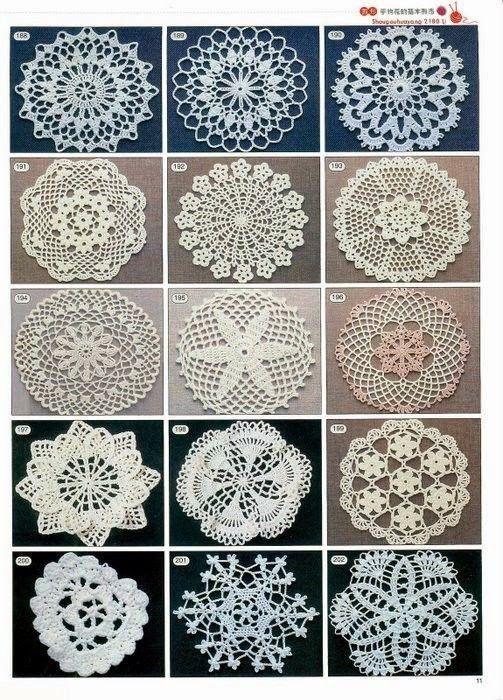 Patrones gratis decrochet carpetas - Imagui