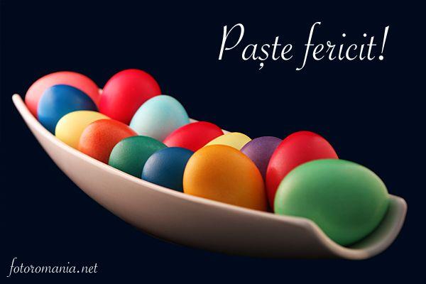 Happy Easter! / Paște fericit!