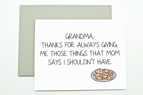 Mother 39 s day card for grandma grandma card grandma for What to get your grandma for her birthday