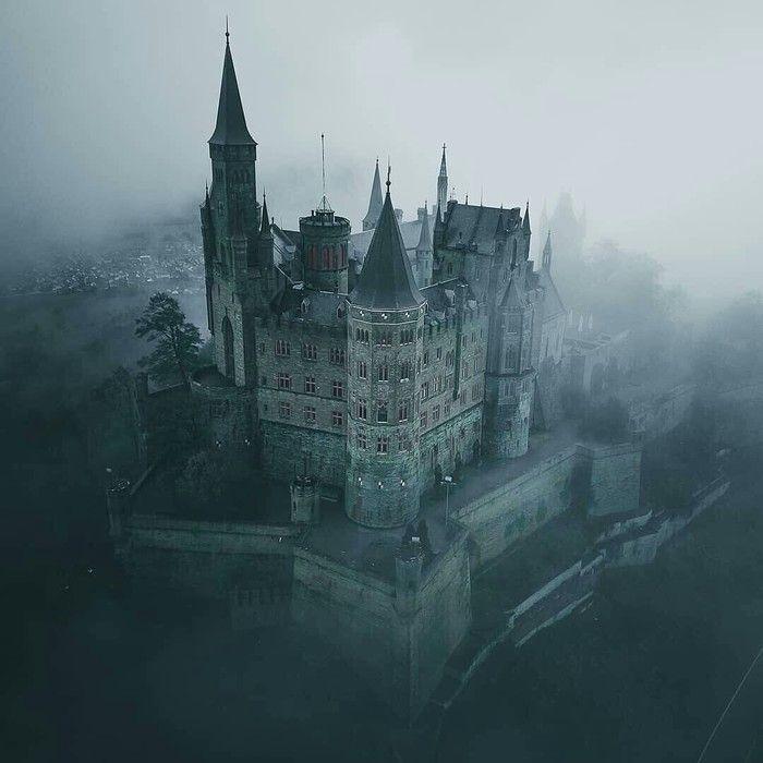 Zamok Gogencollern Germaniya Germany Castles Fantasy Castle