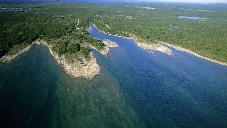 lake huron | Baptist Harbour, Lake Huron, Ontario, Canada