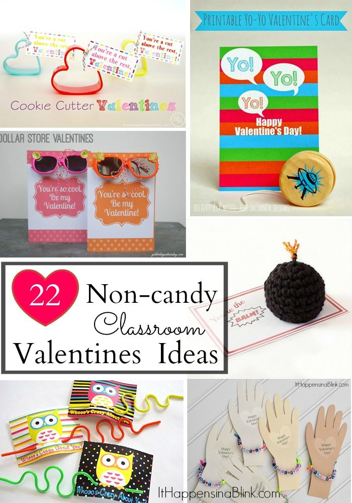 Toddler Classroom Valentine Ideas : Non candy classroom valentines see a collection of