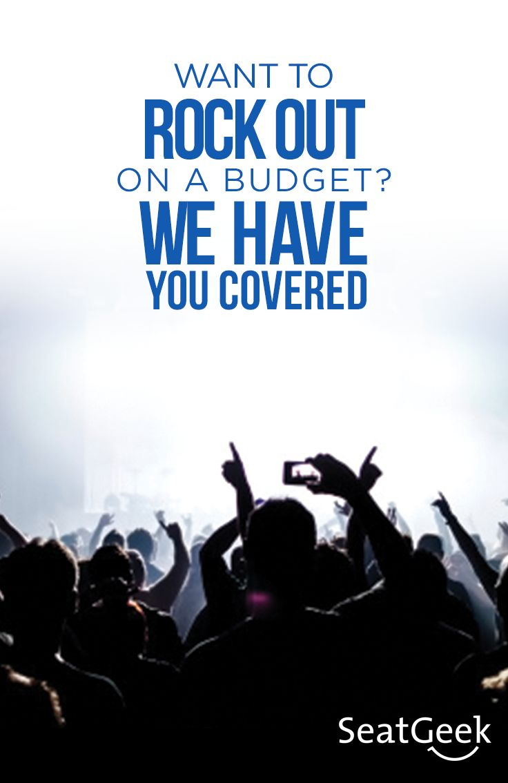 """""""If music be the food of love, play on."""" ~Shakespeare  Love how you live with cheap concert tickets from SeatGeek!"""