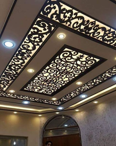 Cnc False Ceiling Designs Ideas Decor Units Lobby False