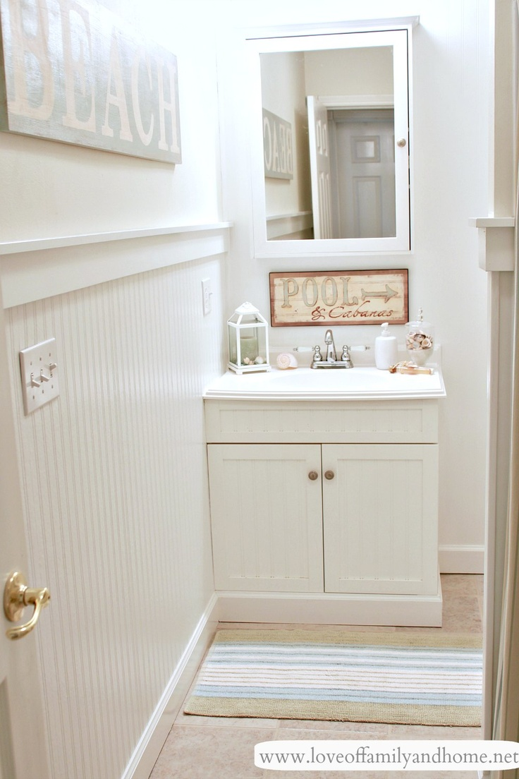 103 best Beach Themed Bathroom images on Pinterest | Bathroom ...