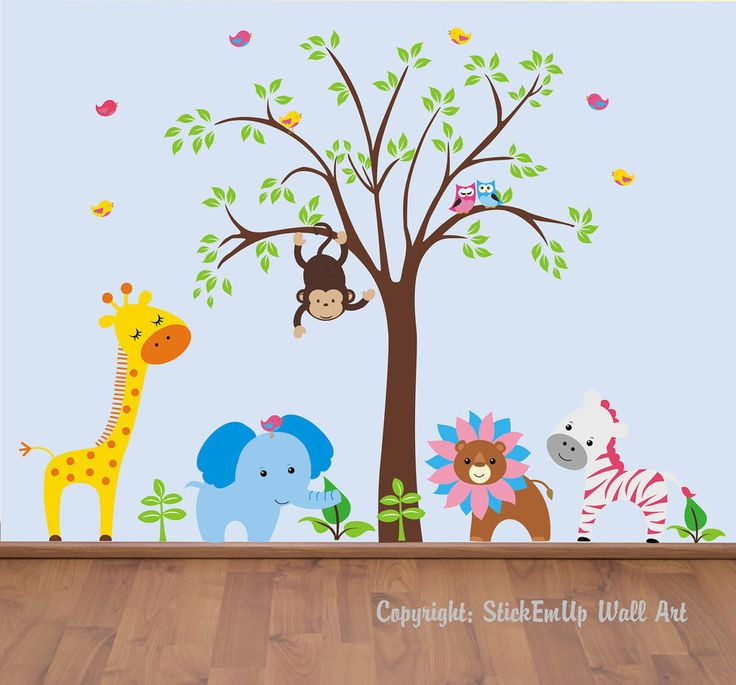 Best Baby Images On Pinterest - Nursery wall decals animals