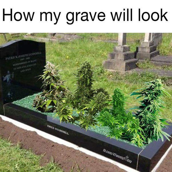 How I imagine Phil's Grave.