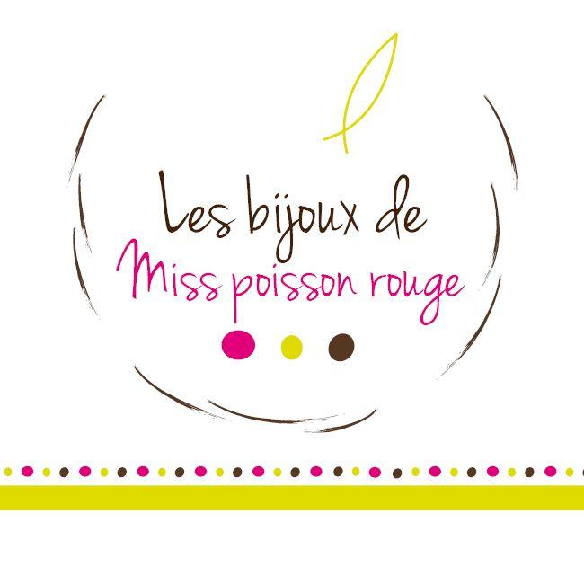 Logo Les bijoux de Miss poisson rouge.