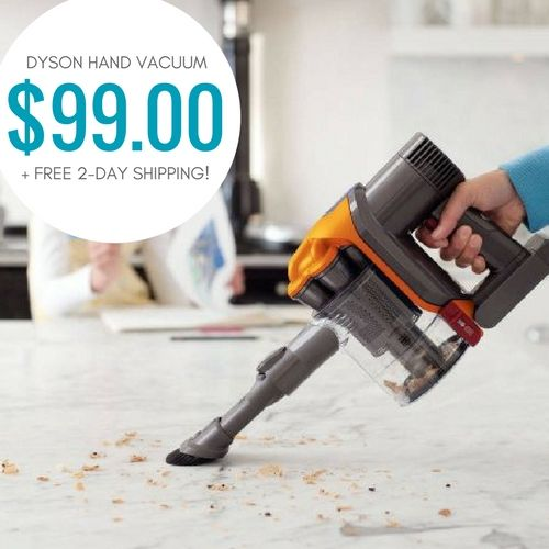 Dyson DC34 Bagless Cordless Hand Vacuum only $99!