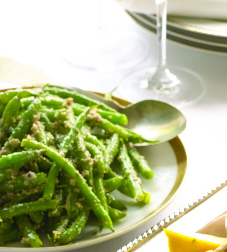 Green Beans with Walnut and Green Olive Tapenade: Olives Oil, Recipe, Olive Oils, Side