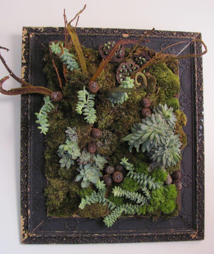Succulent Floral Art