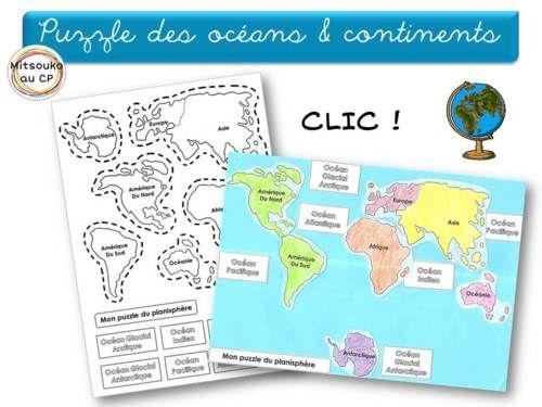 J'aime... continents et océans de Mitsouko