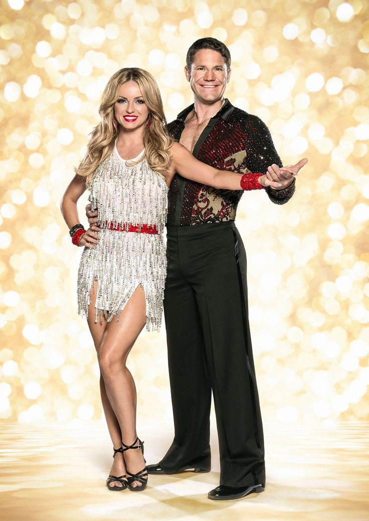Ola Jordan and Steve Backshall strictly come dancing 2014 official photo