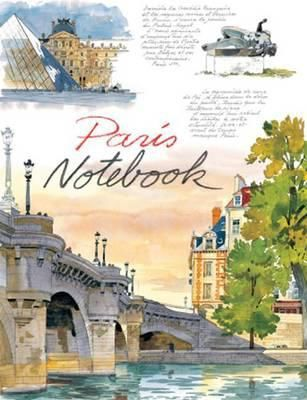 #Paris #Notebook features over 50 drawings and watercolors by artist Fabrice Moireau, who turns his keen eye and delicate brush to recording the enchanting architecture of this fascinating city. This book is a perfect gift for stationery lovers and art enthusiasts alike.