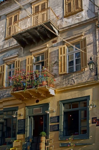 A building in Nafplion