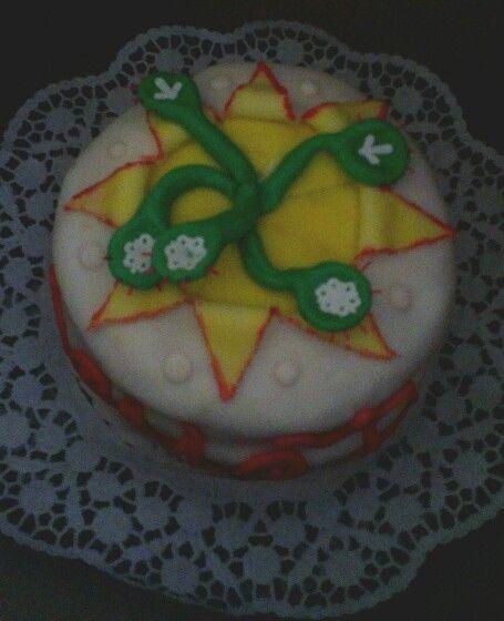 Torta slniečková a mäsožravkou