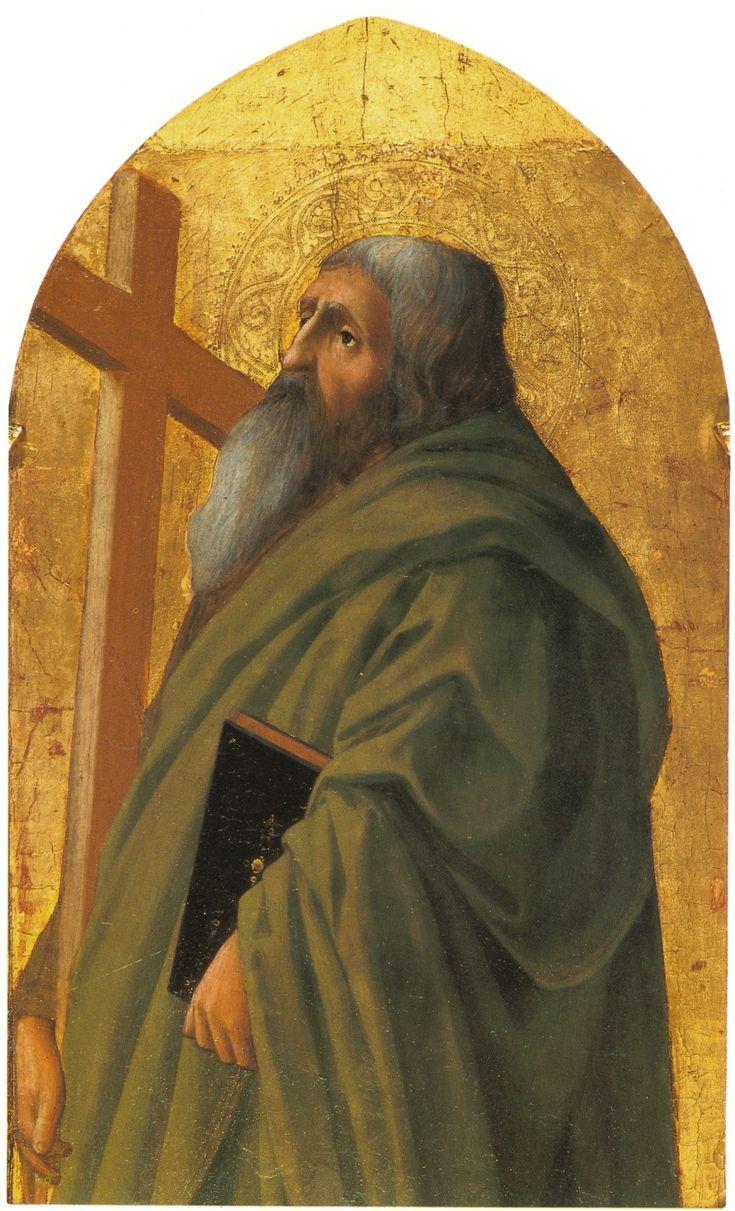 Masaccio. St. Andrew. 1426.