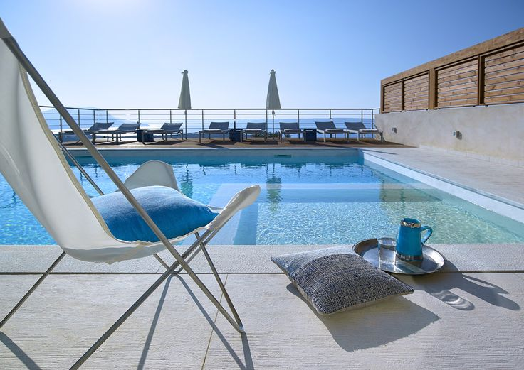 Apollo Crete Sleeps up to 8. Rustic chic meets modern sleek at this luxury villa in Crete. Close to a cluster of beaches, and set on a hilltop for superb views, it offers service, style and fine facilities for five-star comfort.