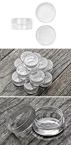 Round Plastic Containers. SE 87440BB Clear Round Plastic Storage Containers with Screw-On Lids (Set of 12).  #round #plastic #containers #roundplastic #plasticcontainers