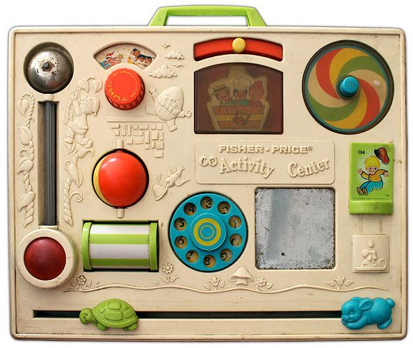 Remember playing with one of these? You can find some recent Fisher Price toys here: http://www.pricerunner.co.uk/cl/72/Toys?attr_57125535=57125568