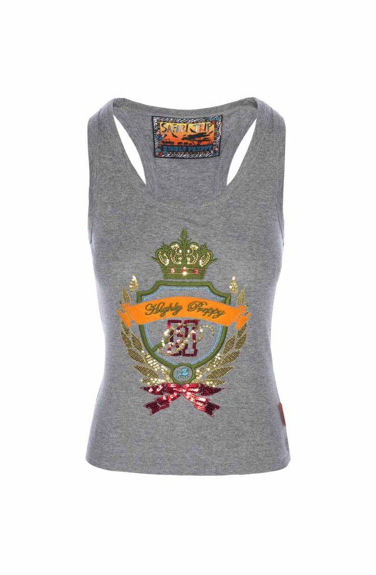 😍 ¡Precioso #top tank corona de la firma de #moda #HighlyPreppy disponible en la #tienda de #ropa #MaribelFernández! ¿Te gusta?