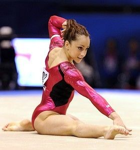 How Female Olympians Can Inspire You at Work. By Heather R. Huhman, at Forbes. Photo: Jordyn Wieber of the US performs in the floor.