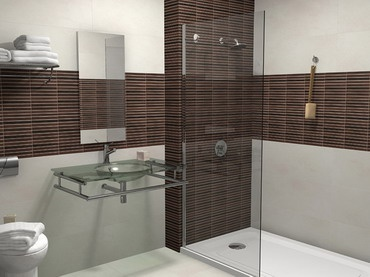 Porcelanosa Stick Wenge Wall Tile