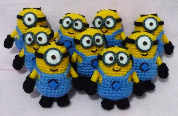 amigurumi minions Wish there was a pattern