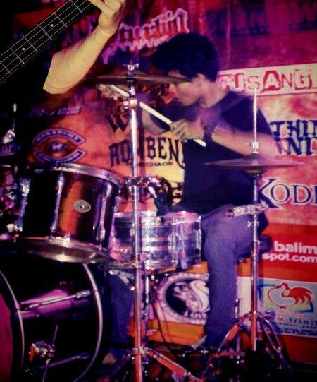 Drummer @disturbia_death
