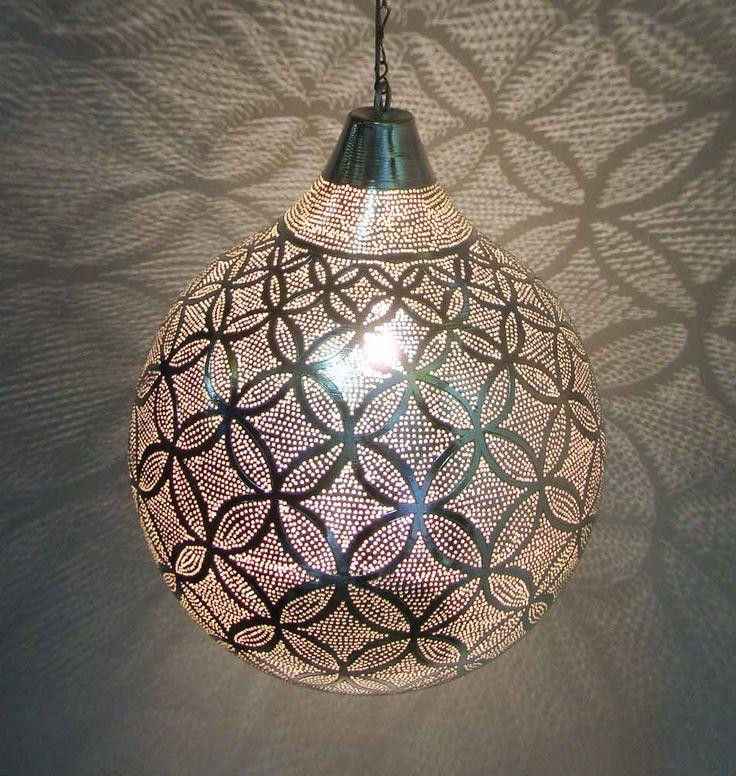 Orientalische Lampe Bajram L Silber Orientalische Lampen Lampen Und Orient Lampe