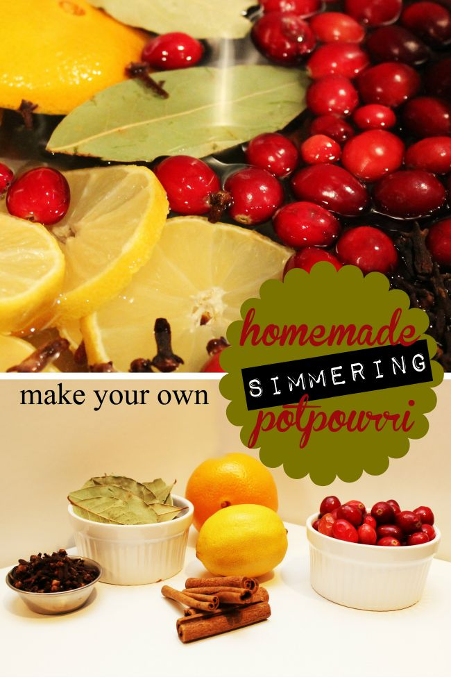 DIY scent for the home