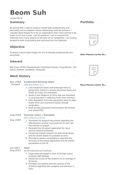 Database Interested Resume Student Upload - The best estimate professional