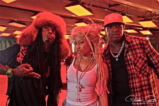 """""""Y U Mad, Y U, Y U mad mad"""" Birdman, Lil Wayne & Nicki Minaj! YMCMB!!"""