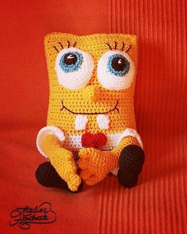 242 mejores imágenes de Crochet I Like - Spongebob and Friends en ...