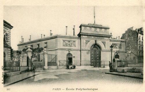 Carte-Postale-PARIS-Ecole-Polytechnique