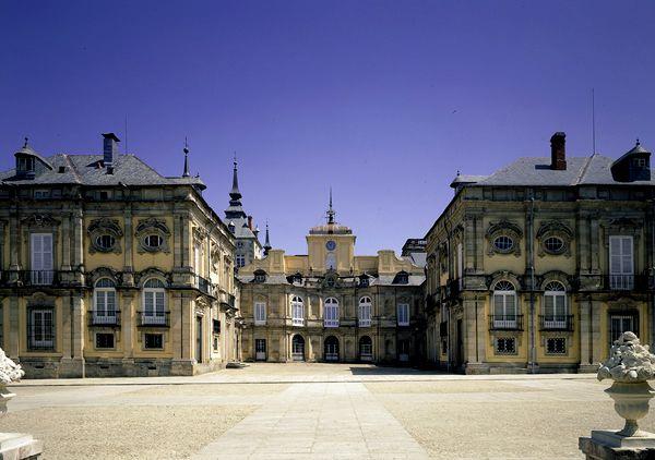 Patrimonio Nacional - Palacio Real de La Granja de San Ildefonso. Segovia. España.