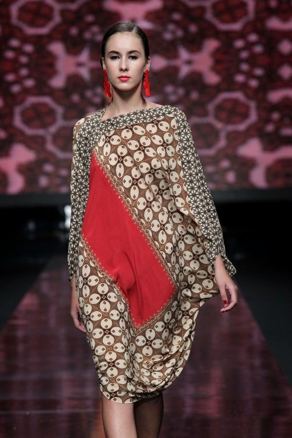 Love this batik dress!