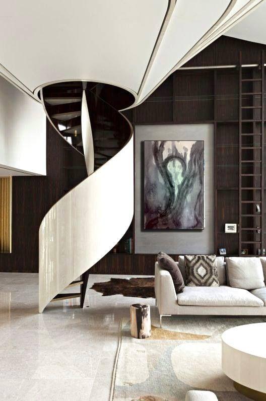 = funnel stairwell