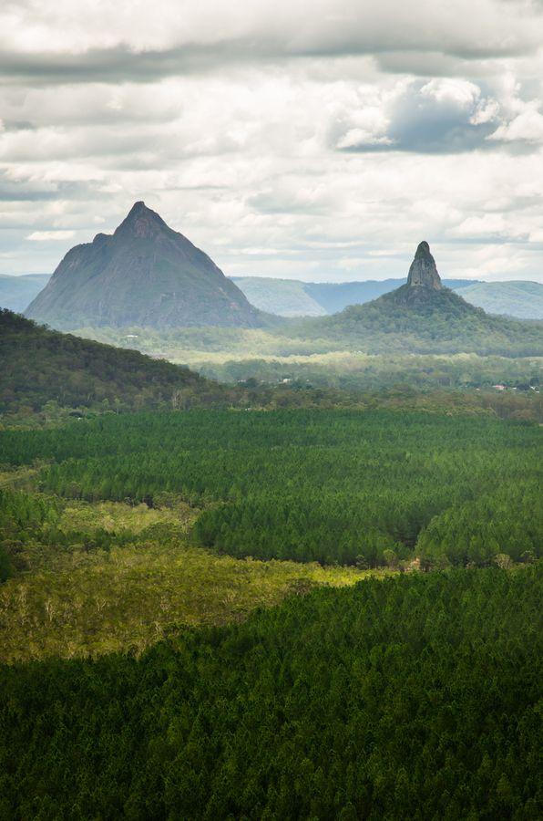 Glass House Mountains | Australia by Matthew...
