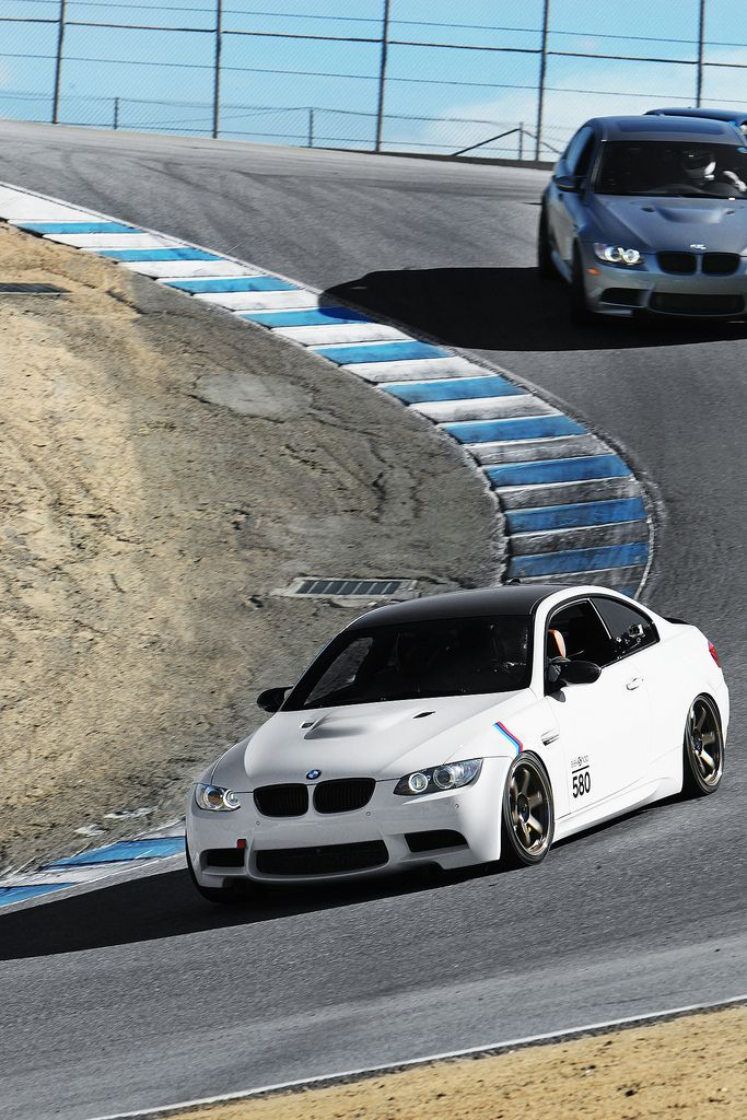 BMW M3 2011 at Laguna Seca