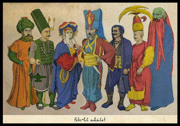 Ottoman was Geeky by Berk Senturk, via Behance