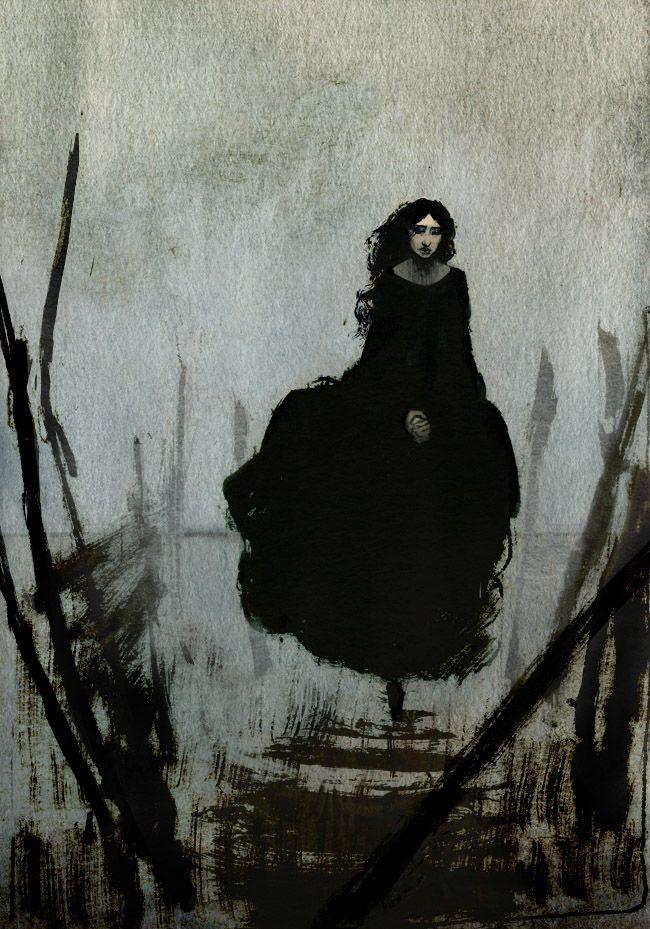 Arrestingly beautiful art by serena malyon