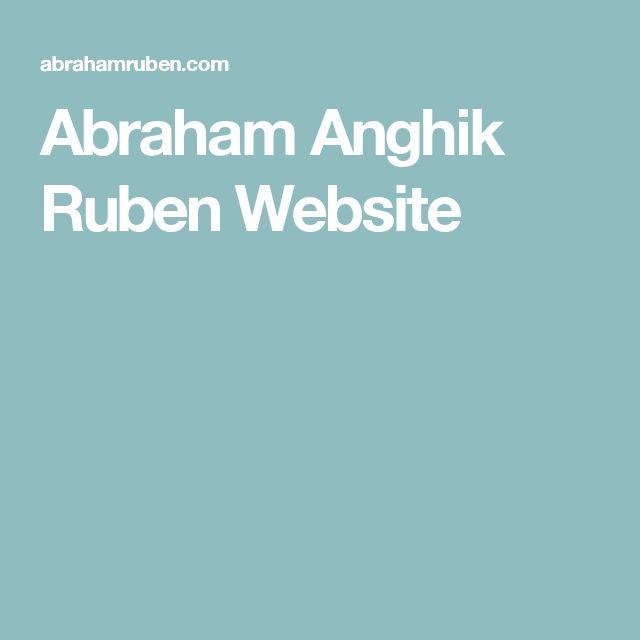 Abraham Anghik Ruben Website