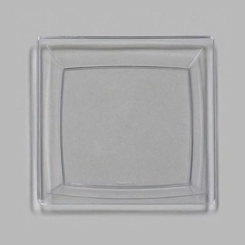 WNA Comet MS9CL 8 1/4\  Clear Square Milan Plastic Plate - 168/Case  sc 1 st  Pinterest & 22 best WNA Upscale Disposables images on Pinterest | Plastic plates ...