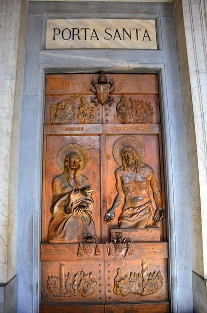 Porta Santa, Basilica of Santa Maria Maggiore, Rome