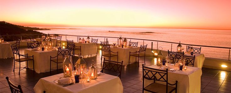 Azure restaurant at The Twelve Apostles hotel and Spa with private wine collection and fireplace
