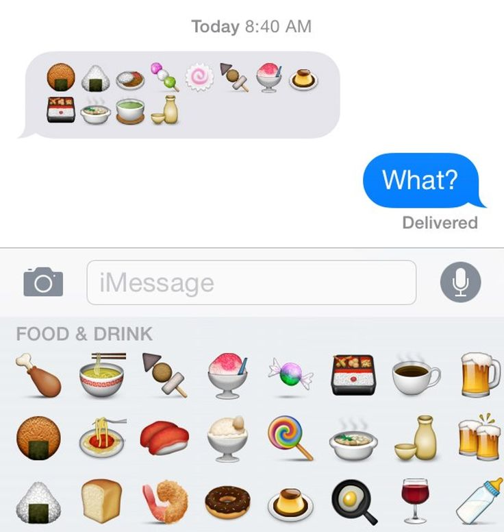 What All Those Mysterious Japanese Food Emojis Really Mean