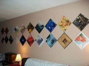 How To Hang Records On The Wall Without Damaging The